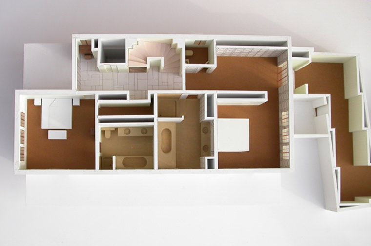 Atelier c1 thierry reverdin maquettisme for Architecture d interieur